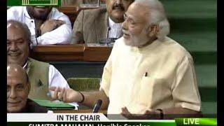 राहुल से हसी मज़ाक में बदला लिया मोदी | gag, joke, jest & mockery, Modi attacks congress, Parliament