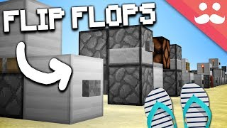 How to Make EVERY T-FLIP FLOP in Minecraft!