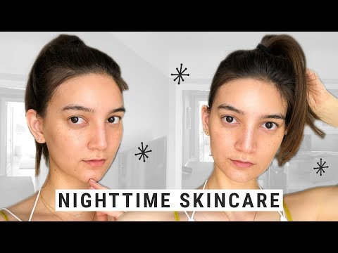 My Nighttime Skincare Routine for a Plump, Smooth, Bright Complexion!