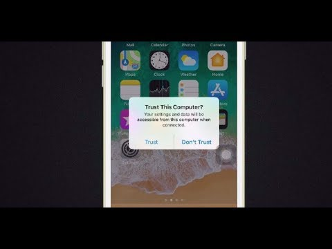How to Fix Trust This Computer Alert iOS Not Showing iPhone XS Max/XS/XR/X/8 Plus/8/7 Plus/7/6/6s