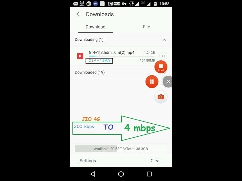 hack jio 4g download speed in uc browser