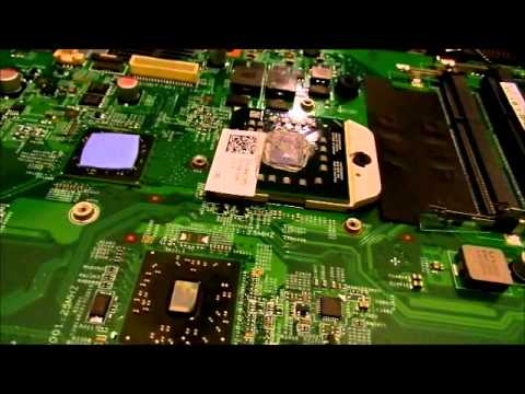 Replacing the Motherboard on a Dell Inspiron  M5030