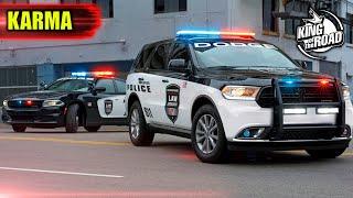 Best Instant karma. Police activity. Instant Justice. Convenient cop NEW