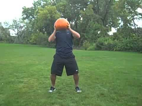 Attack of the Arms  4 Minute Halloween Freaky Fat Loss Workout with Pumpkins!