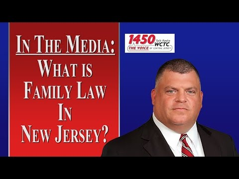 What Is Family Law in NJ? (WCTC Radio)