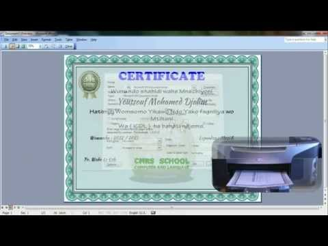 DIPLOMA Microsoft Word 2003