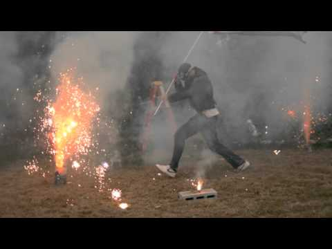 Fireworks in Super Slow Motion