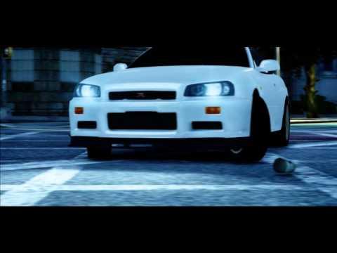 GTA IV - Nissan Skyline GT-R 34 [Promo] [Dubstep] [720P]