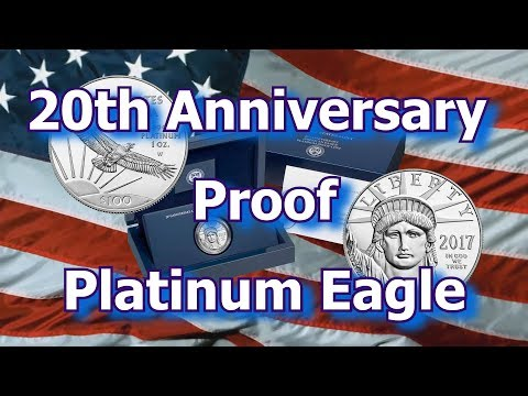 US Mint Releases 20th Anniversary Platinum Eagle Proof Coins