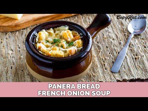 Panera Bread French Onion Bistro Soup