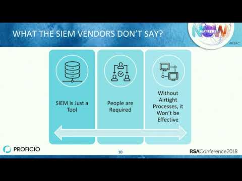 From SIEM to SOC: Crossing the Cybersecurity Chasm