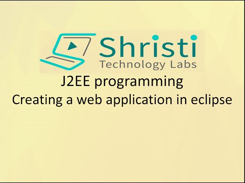 J2EE programming - Creating a web application in eclipse
