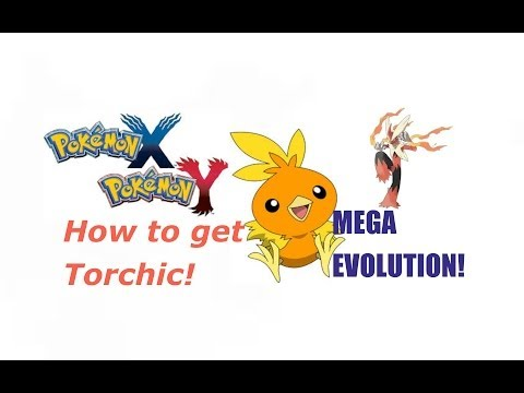 (EVENT OVER) Pokemon X & Y - How To Get Torchic