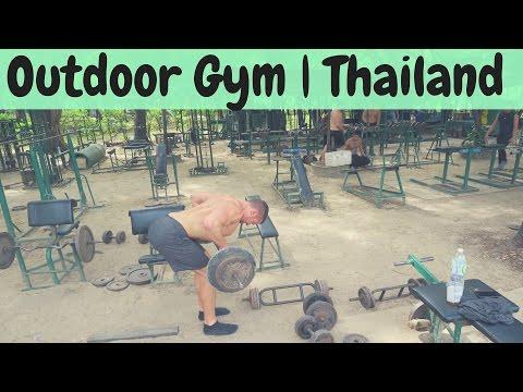 Lumpini Park Outdoor Gym 💪🏼 | ✈️ Chiang Mai