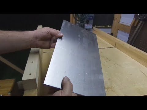 6061 Aluminum cutting on a table saw