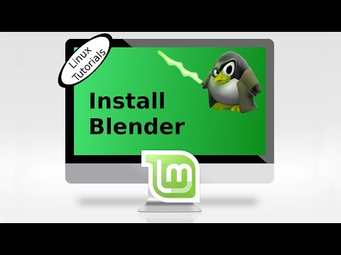 Noobs Lab: how to install Blender Linux Mint or Ubuntu