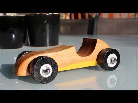 Wooden Toy Car - Speedster Built Fast