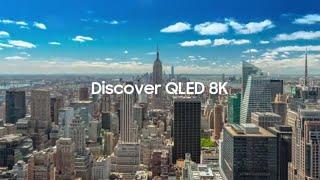 """New Samsung QN82Q900RBFXZA Flat 82"""" QLED 8K Q900 Series Smart TV (2019)"""