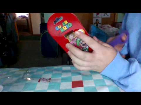 Super Mario LED Watch Unboxing