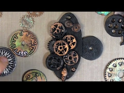 SteamPunk Pendant Part 1 (How To)