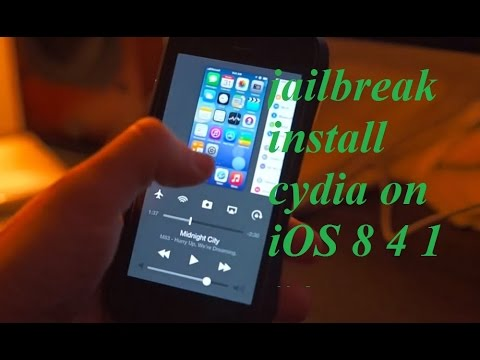 jailbreak install cydia on iOS 8 4 1 no computer