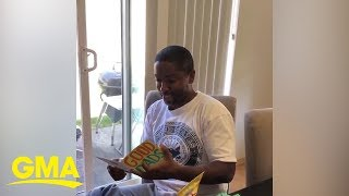 Daughters give stepdad emotional Father's Day surprise  | GMA