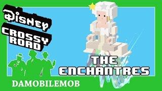 ★ DISNEY CROSSY ROAD Secret Characters   THE ENCHANTRESS Unlock (Beauty and the Beast Update)