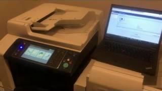 Xerox workcenter 7525 7535 7545 7555 screen unresponsive  Flashing