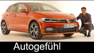 VW Polo Mk6 REVIEW 2018 Exterior/Interior R-Line & Beats in Volkswagen Studio - Autogefühl