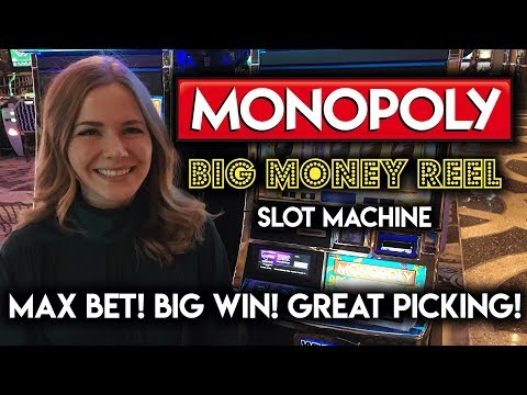 Monopoly BIG MONEY REEL! BIG WIN!!! Free Spins and Perfect Utilities BONUS!