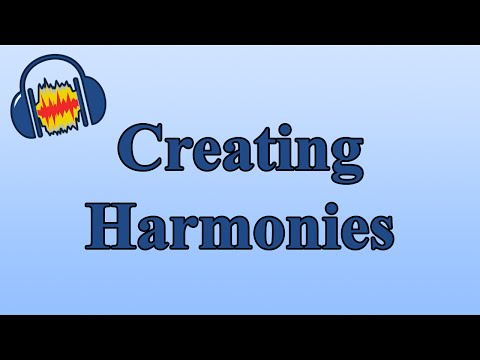 How to Create Harmonies in Audacity with the Change Pitch Effect