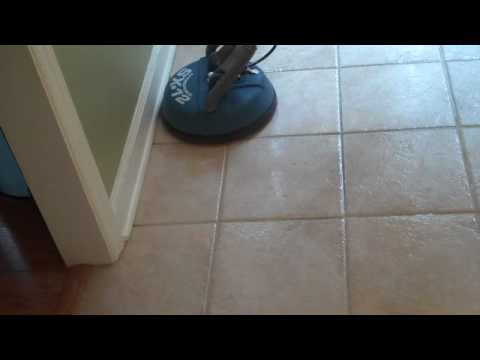 Tile + Grout Cleaning and Color Sealing