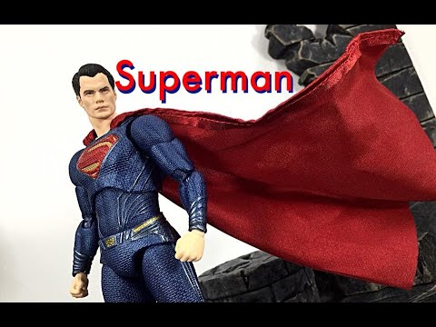 MAFEX Medicom Toy DC Justice League Movie SUPERMAN Action Figure Toy Review