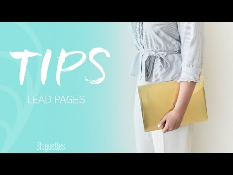 How To Create A Landing Page With LeadPages