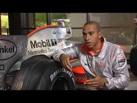 Tour of Lewis Hamilton's F1 Car