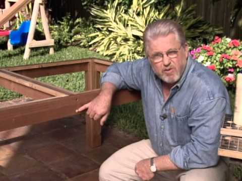 How to Build an Outdoor Table and Planter Boxes