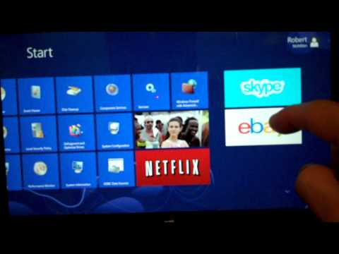 How to view all installed apps  in the Microsoft Windows Surface Tablet