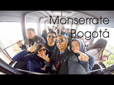 Monserrate - Teleférico - Funicular - Vistas | Bogotá
