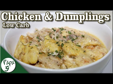 Low Carb Chicken and Dumplings Simple and Easy