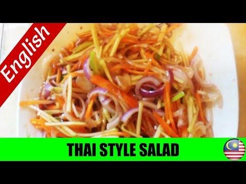 How To Cook: Malaysian Thai Style Salad (ACT AS APPETIZER)