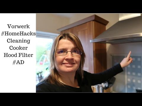 Vorwerk #HomeHacks: Cleaning Cooker Hood Filters #AD   JosKitchen.co.uk