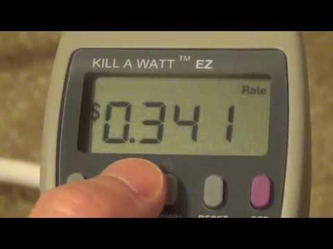 P3 Kill A Watt EZ Electricity Usage Monitor (P4460) Review
