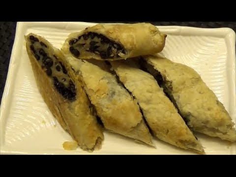 Trinidad Currants Roll  Recipe - Flaky Pastry - Episode 117
