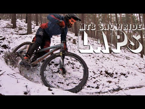 LAPS! - ENDURO / DOWNHILL IN THE SNOW -subtitled-