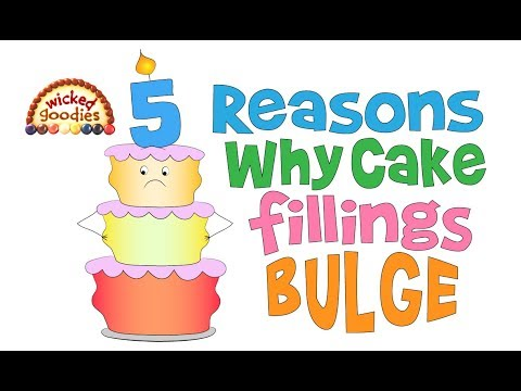 Bulging Cake Fillings, Top 5 Reasons Plus Solutions