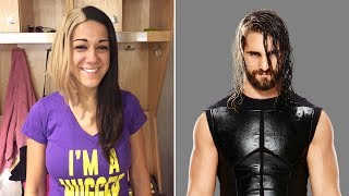 Bayley impersonates Seth Rollins with new makeover