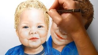 Timelapse   Coloring Skin With Pan Pastel And Colored Pencils   Emmy Kalia