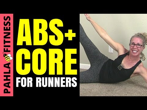 15 Minute ABS + CORE STRENGTH Interval Workout for RUNNERS | How to RUN Faster + Stronger