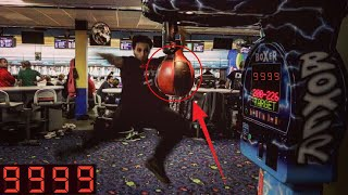 THE ARCADE BOXING PUNCHING BAG CHALLENGE! | *WORLD RECORD* | HOW TO GET THE HIGH SCORE ARCADE HACK!