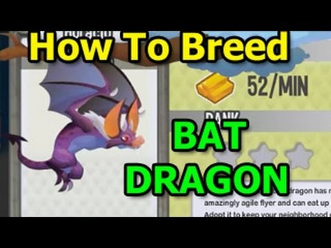 How To Breed BAT DRAGON In Dragon City Exclusive Guide
